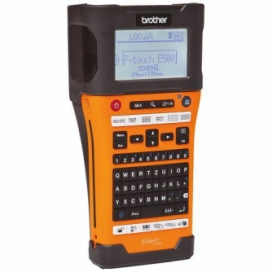 Brother® P-Touch® PT-E500VP Handheld Industrial Labeller