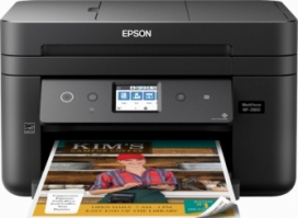 Epson Workforce WF-2860 All-in-One Color Inkjet Printer (C11CG28201)
