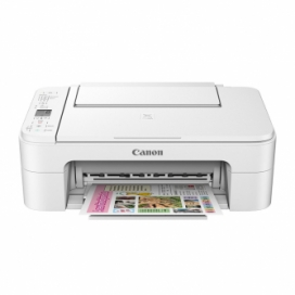 Canon PIXMA TS3120 All-In-One Color Inkjet Printer - White