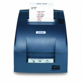 Epson® TMU220B-653 Receipt Printer Two Color Dot Matrix Serial Interface