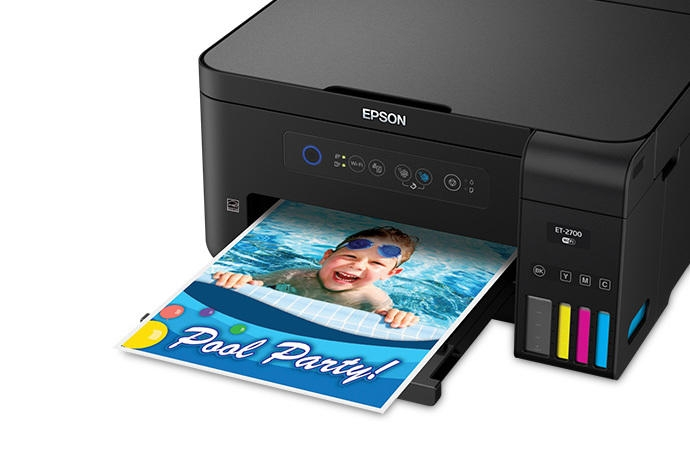 Epson Expression ET-2700 EcoTank All-in-One Supertank Inkjet Printer  (C11CG24201)